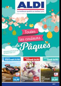Prospectus Aldi Asnières-sur-Seine : Toutes les couleurs de Pâques