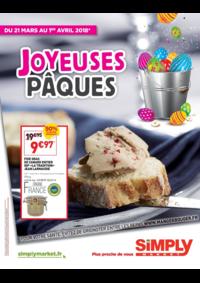 Prospectus Simply Market ARGENTEUIL : Joyeuses Pâques