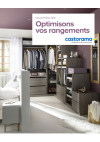 Catalogues et collections Castorama PONTAULT COMBAULT : Optimisons vos rangements