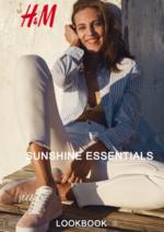 Catálogos e Coleções H&M : Lookbook mulher Sunshine essentials