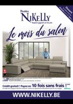 Catalogues et collections Meubles Nikelly : Le mois du salon