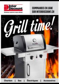 Prospectus Inter Discount Bern Bümpliz : Grill time !