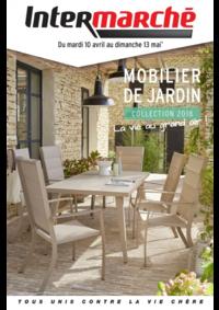 Prospectus Intermarché Super Jussey : Mobilier de jardin collection 2018