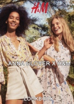 Catálogos e Coleções H&M : Lookbook mulher Anna Glover X H&M