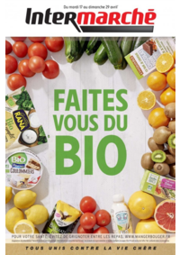 Prospectus Intermarché Contact CORRE : Faites vous du bio
