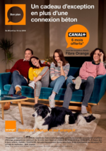 Prospectus Orange : Un cadeau d'exception en plus d'une connexion béton