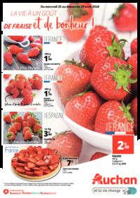 Prospectus Auchan MAUREPAS : La vie a un goût de fraise et de bonheur !