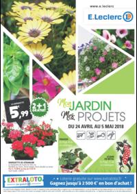Prospectus E.Leclerc FRANCONVILLE : Mon jardin Mes projets