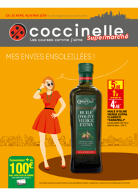 Prospectus Coccinelle Supermarché PARIS 108/110 RUE DES PYRENEES : Mes envies ensoleillés !