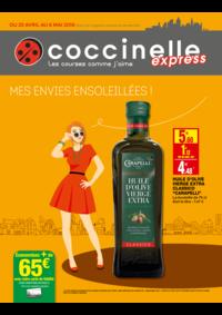 Prospectus Coccinelle Express BOULOGNE BILLANCOURT : Mes envies ensoleillés !