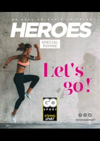 Guides et conseils Go Sport BESANCON : Guide Go Sport Heroes spécial femme