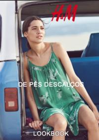Catálogos e Coleções H&M Braga : Lookbook mulher De pés descalços