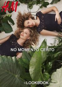 Catálogos e Coleções H&M Lisboa Grandella : Lookbook mulher No momento certo