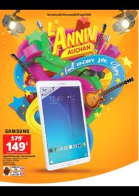 Prospectus Auchan : L'anniv Auchan fait encore son show
