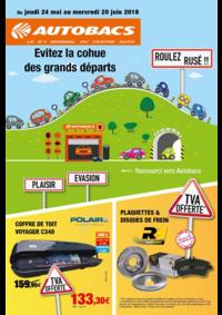 Prospectus autobacs Rosny-sous-Bois : Évitez la cohue des grands départs