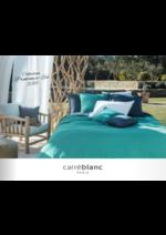 Prospectus Carré Blanc : COLLECTION PRINTEMPS & ÉTÉ 2018