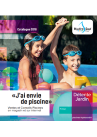 Catalogues et collections Hydrosud : Catalogue 2018