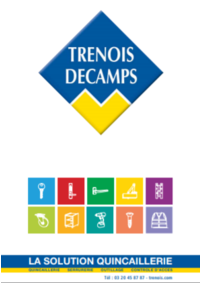 Catalogues et collections Trenois Decamps Paris : Catalogue 2018