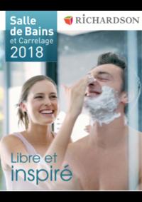 Catalogues et collections Richardson FONTENAY-SOUS-BOIS : Salle de bains et carrelage 2018