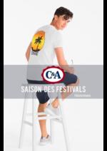 Catalogues et collections C&A : Saison des Festivals - Hommes