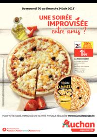 Prospectus Auchan Supermarché Launaguet : Une soirée improvisée entre amis?