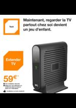 Prospectus Orange : Maintenant, regarder la TV partout chez soi est un jeu d'enfant