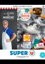 Prospectus Super U : Sélection saveurs de la mer
