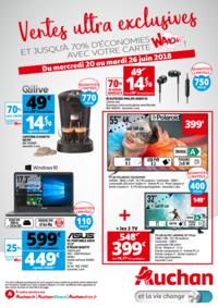 Prospectus Auchan PUTEAUX : Vente ultras exclusives