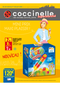 Prospectus Coccinelle Supermarché PARIS 108/110 RUE DES PYRENEES : Maxi prix maxi plaisir!