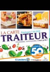 Prospectus E.Leclerc : La carte traiteur printempsété 2018