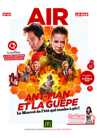 Journaux et magazines McDonald's - PARIS 42 : Air le Mag du mois de juillet 2018