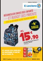 Prospectus E.Leclerc : Réconcilier envies des enfants et budget des parents