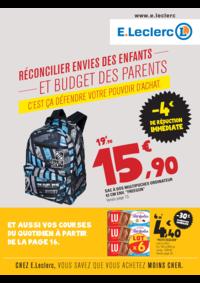 Prospectus E.Leclerc NANTERRE : Réconcilier envies des enfants et budget des parents