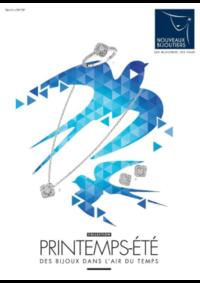 Prospectus Nouveaux bijoutiers Paris : Tendances Printemps-Eté 2018