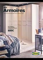 Prospectus IKEA : Armoires 2018