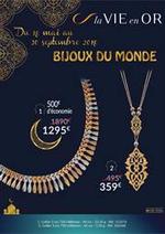 Prospectus  : bijoux du monde