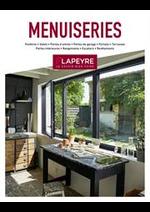 Prospectus Lapeyre : Menuiseries