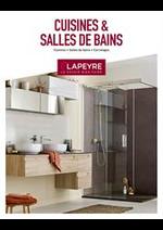 Prospectus Lapeyre : Cuisines & Salles de Bains