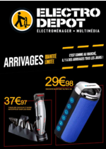 Prospectus ELECTRO DEPOT : Arrivages