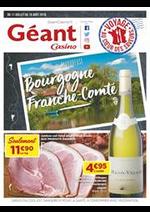 Prospectus Géant Casino : Savoureuse Bourgogne Franche-Comté