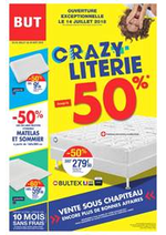 Prospectus BUT : Crazy Literie