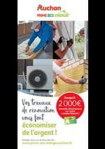 Prospectus Auchan : Prime-Eco Energie