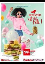 Prospectus Auchan : Recevoir est une fête!
