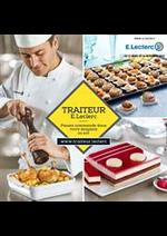 Prospectus E.Leclerc : Traiteur E.Leclerc