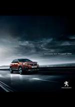 Prospectus Peugeot : Peugeot 3008