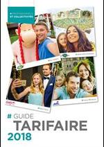 Prospectus  : Guide Tarifaire 2018