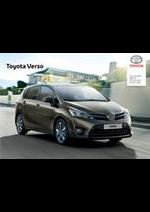 Promos et remises  : Toyota Verso