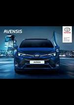 Promos et remises  : Toyota Avensis
