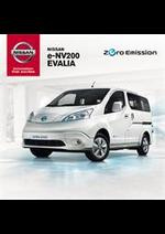 Promos et remises  : Nissan e-NV200 EVALIA