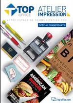 Prospectus Top office : Atelier Immpression - Spécial Commerçants